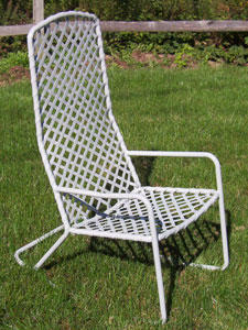 Vinyl Restrapping Woven Chair